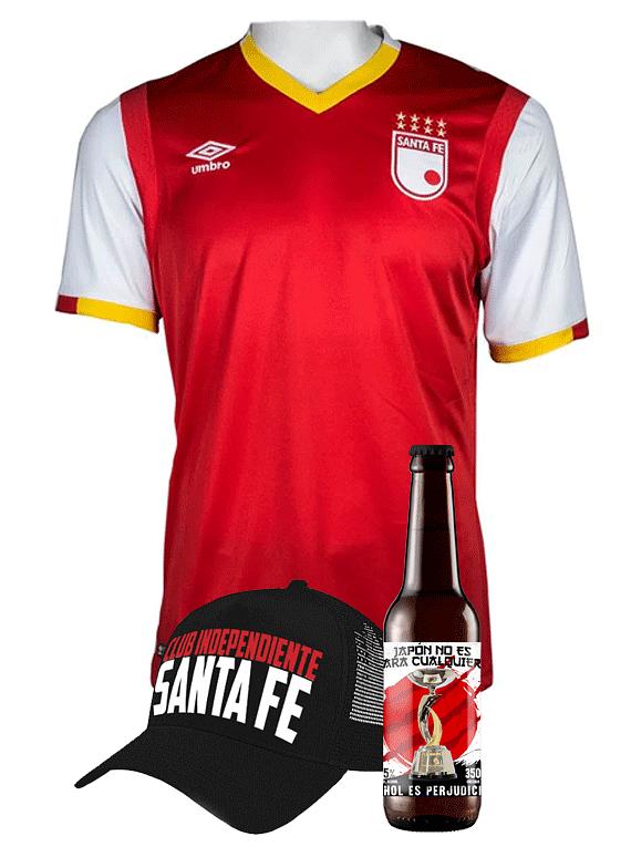 (Camiseta - Roja 2017 - Talla XL) + Gorra + Cerveza