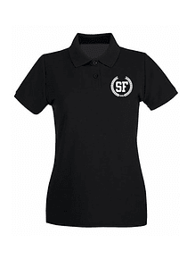 Polo Negra de Mujer Talla M - SF Laurel