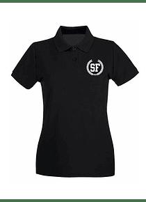Polo Negra de Mujer Talla XL - SF Laurel