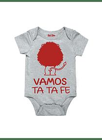 Body Gris Talla 6-9 meses - Vamos Ta Ta Fe