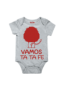 Body Gris Talla 9-12 meses - Vamos Ta Ta Fe