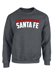 saco cuello redondo gris oscuro talla M  Club Independiente Santa Fe