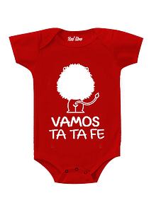 Body Rojo Talla 12-16 meses - vamos ta ta fe