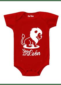 Body rojo Talla 6 meses - León SDL