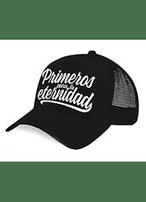 Gorra malla - Primeros para la eternidad
