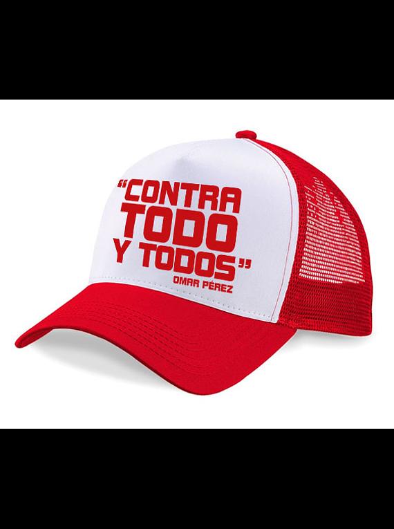 Gorra malla - Contra todo y todos