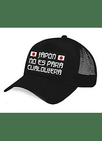 Gorra malla - Japon no es para cualquiera