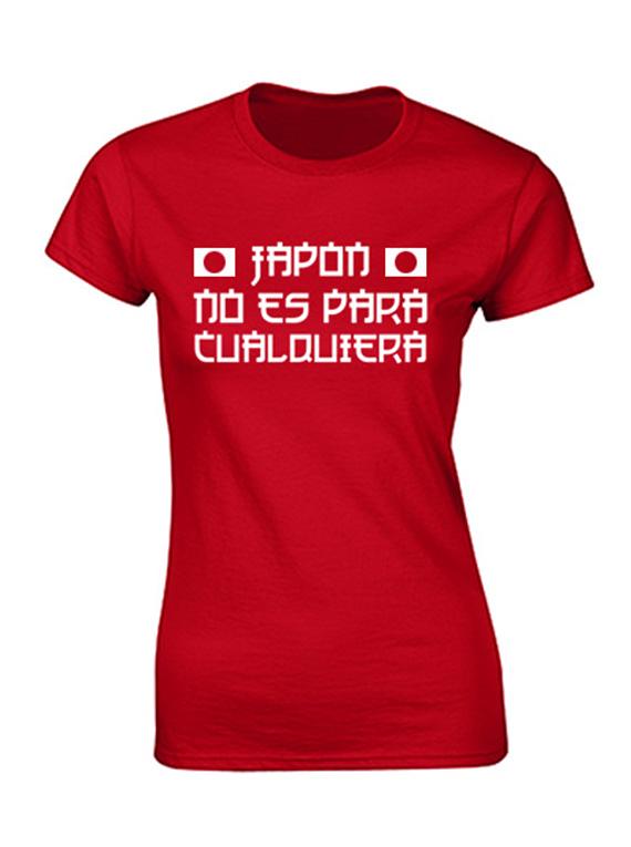 Camiseta mujer - Japon no es para cualquiera
