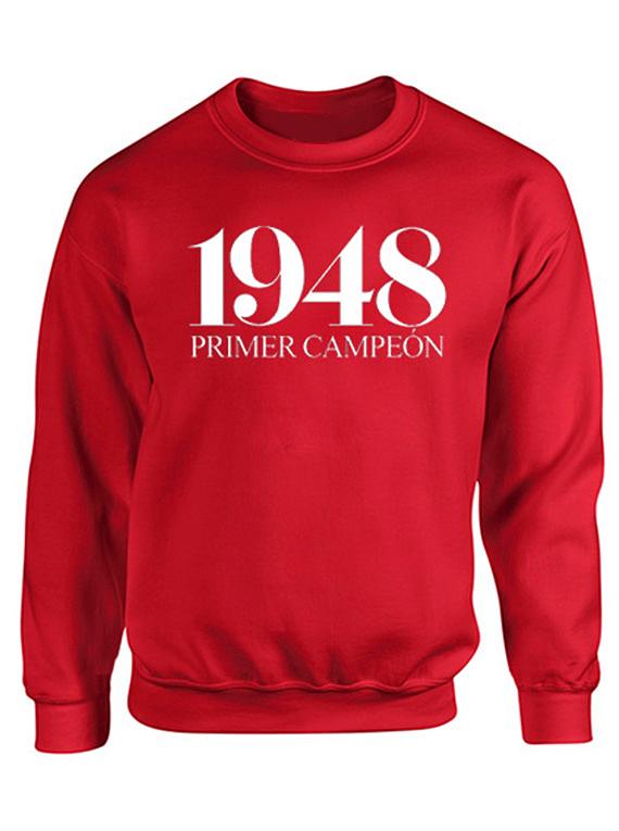 Saco cuello redondo - 1948 primer campeón
