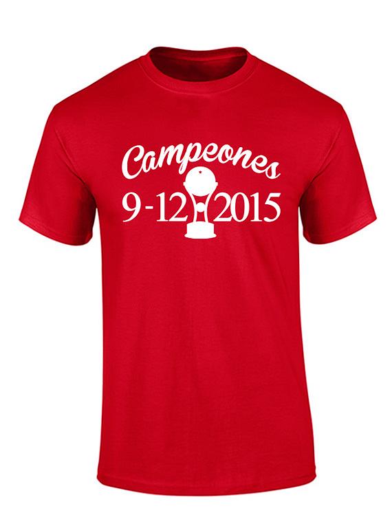 Camiseta hombre - Campeones 9/12/2015