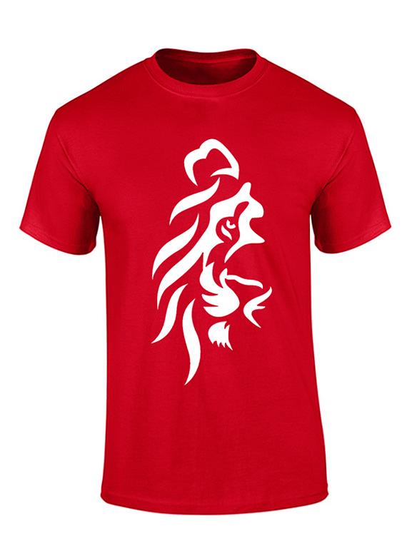 Camiseta hombre - Leon lado