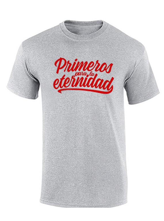 Camiseta hombre - Primeros para la eternidad