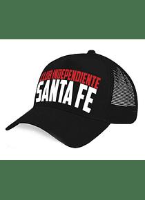 Gorra malla - Club Independiente Santa Fe