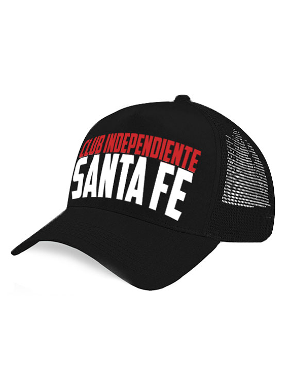 Gorra malla - Club Independiente Santa Fe