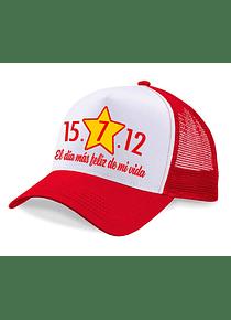 Gorra malla - El día más feliz de mi vida
