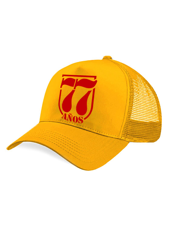 Gorra malla - 77 Años