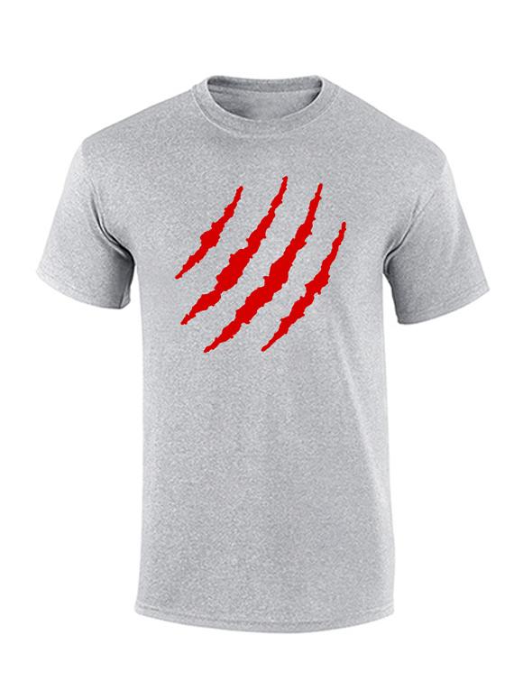 Camiseta hombre - Rasguño