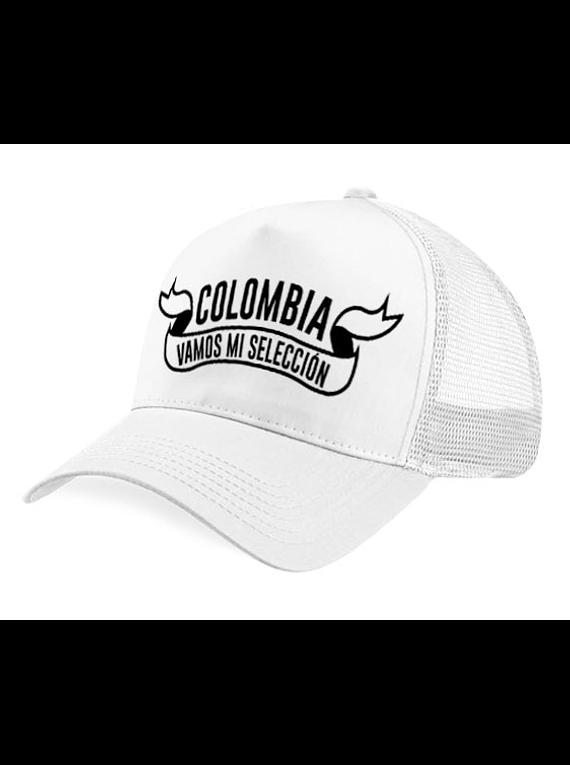 Gorra malla - Colombia cinta