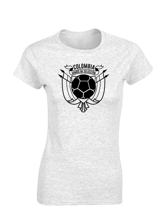 Camiseta mujer - Colombia ESC