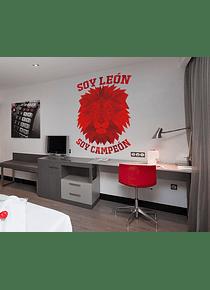 Impresión decorativa - Soy León soy Campeón 50X60 cm