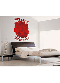 Impresión decorativa - Soy León soy Campeón 100X60 cm