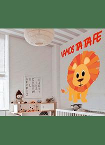 Impresión decorativa - Vamos Ta Ta Fe 100X60 cm