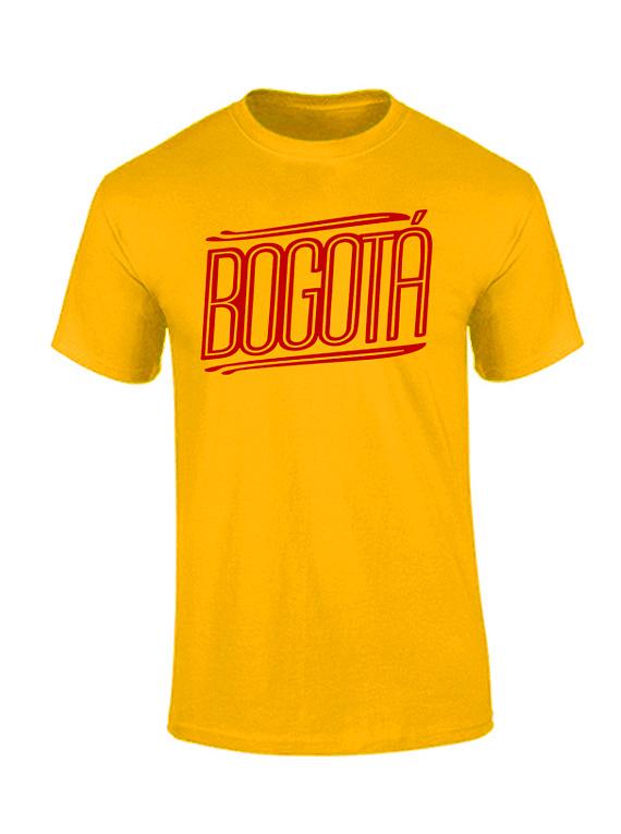 Camiseta hombre - Bogotá lineas