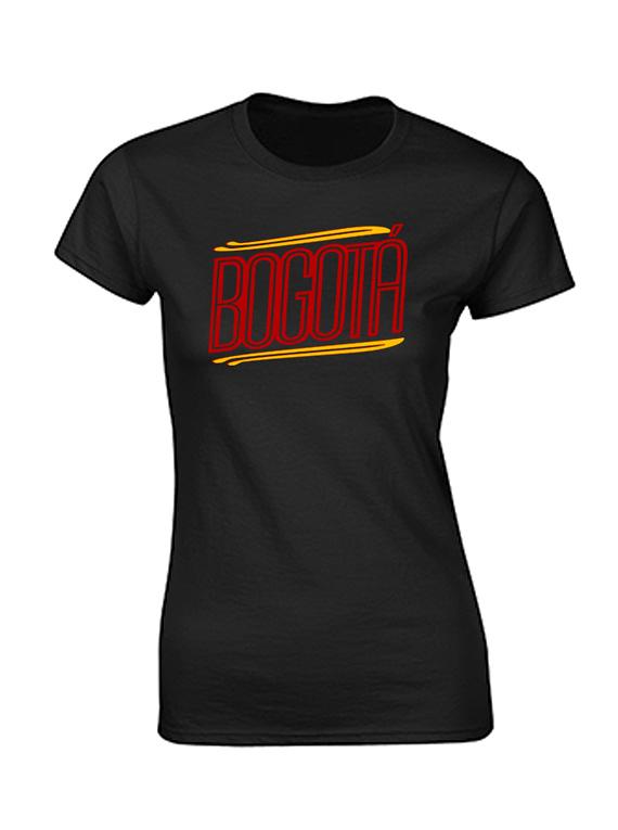 Camiseta mujer - Bogotá lineas