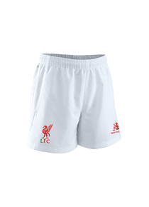 Pantaloneta Réplica Liverpool  - Blanca Talla L