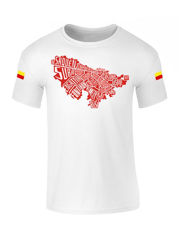 Camiseta hombre - Cuidad Bogota