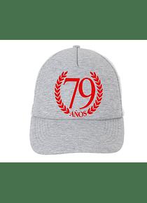 Gorra - Malla - Laurel 79 años
