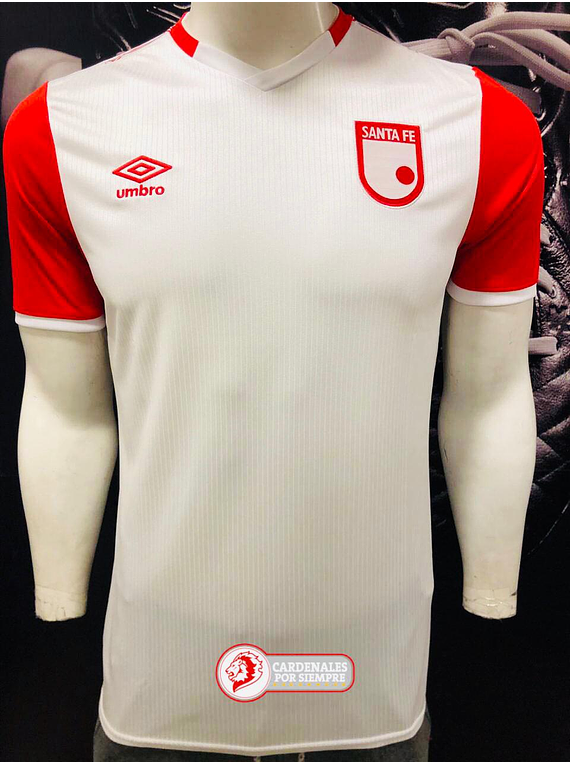 Camiseta Santa Fe - Umbro 2020 - Blanca