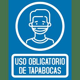 Señalizacion Uso de Tapabocas Ref. 413001