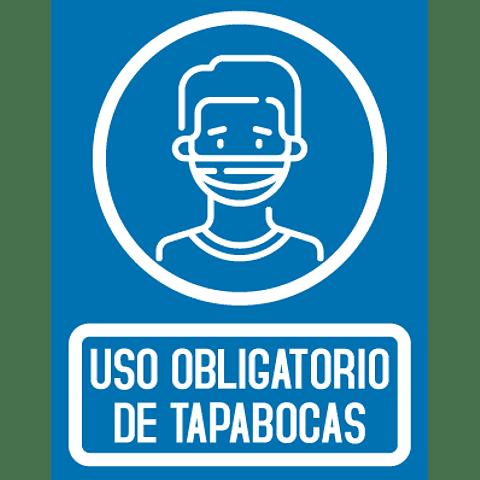 Señalización Uso de Tapabocas Ref. 413001