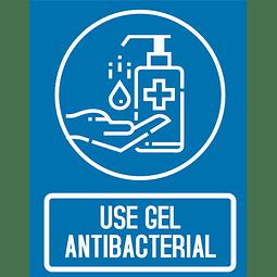 Señalización Use Gel Antibacterial Ref. 413002