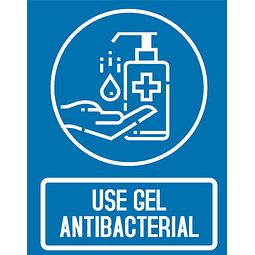 Señalización Use Gel Antibacterial Ref. 413002