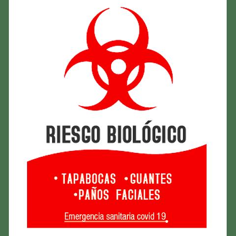 Señalización Riesgo Biológico Ref. 413011