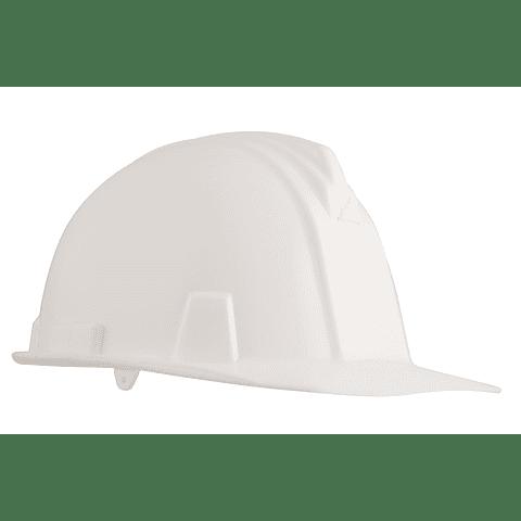 Casco Armadura Dieléctrico con Rachet Blanco Ref. A1300