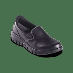 Zapato Kondor Mocasin Celeste Negro Ref. 427509 *Nuevo*