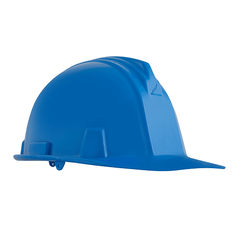 Casco Armadura Dieléctrico con Rachet 4 Puntos de Apoyo Azul Ref. A1300
