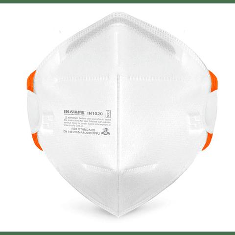 Tapabocas N95 Material Particulado Insafe Ref. IN1020