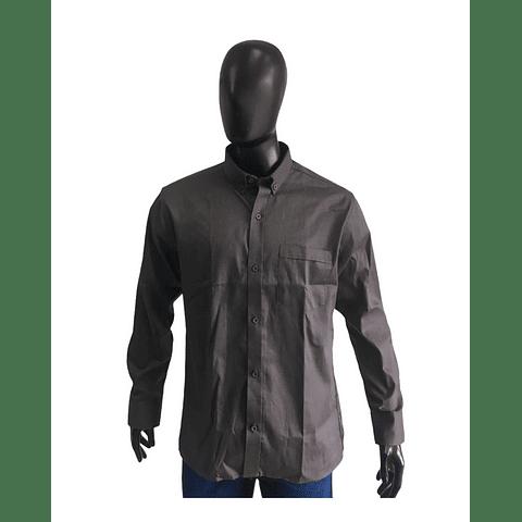 Camisa Tipo Ingeniero Dril Twill Color: Gris Ref. 130420