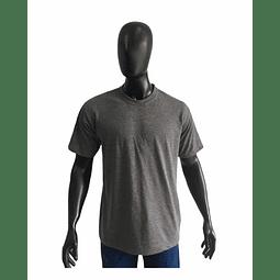 Camiseta Cuello Redondo Gris Oscuro Ref. 200170