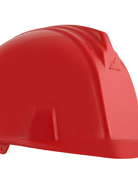 Casco Dielectrico con Rachet 4 Puntos de Apoyo Rojo Ref. A1300