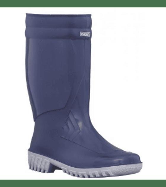 Bota Croydon Machita Feminela PVC Azul Ref. 5900060