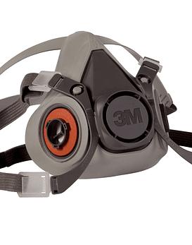 Respirador 3M Media Cara Talla M Ref. 6200