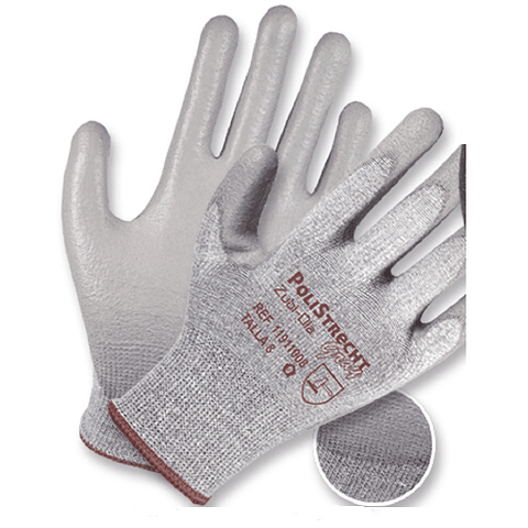 Zubiola Glove Dark Gray Polyurethane Ref. 11911009