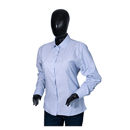Camisa Oxford Dama Manga Larga Ref. 103011