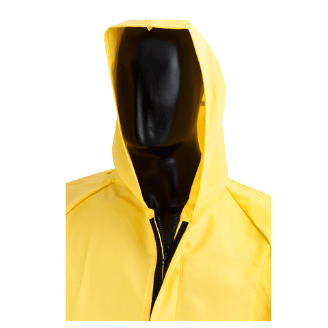 Jacket Waterproof Zipper and Yellow Velcro Ref. 1631