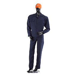 Overalls Shirt and Pants Denim Color: Dark Blue Ref. 10100110